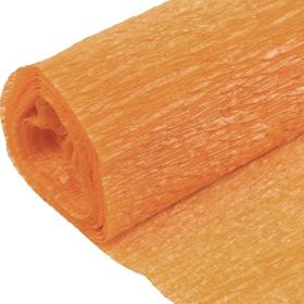 Бумага гофрированная поделочная 50см*250см шафрановый DV-12563-44