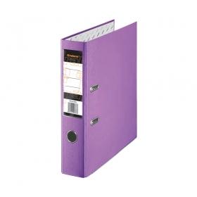 Папка регистратор А4, ПВХ, 50 мм. фиолетовая с уголком Tiralana Flax Vinil RMP50-415VT
