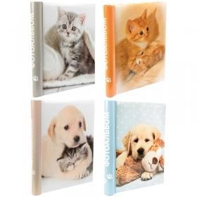 "Фотоальбом магнитный 20 листов 23*28см, Veld-co ""Puppies and kittens "" 72546"