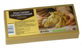 Пластилин скульптурный цвет телесный ПЛС-01