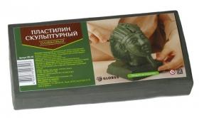 Пластилин скульптурный цвет оливковый ПЛС-03