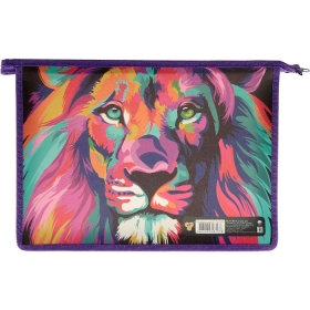 Папка для тетрадей  А4 на на молнии Colour lion ПМ-А4-29 Colour lion