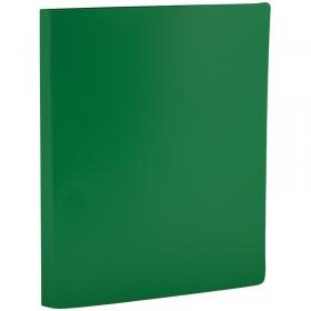 Папка с зажимом OfficeSpace, 14мм, 450мкм, зеленая FC4_314