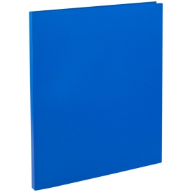 Папка с зажимом OfficeSpace, 14мм, 450мкм, синяя FC2_308