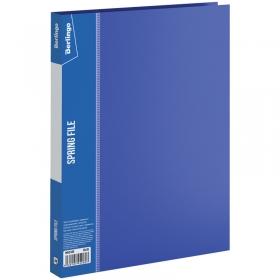 """Папка с пружинным скоросшивателем Berlingo """"Standard"""", 17мм, 700мкм, синяя MH2335"""