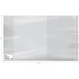 Обложка 230*380 для учебников старших классов, универсальная с липким слоем, ArtSpace, ПП 70мкм, ШК