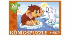 Konigspuzzle. МЕГА-ПАЗЛЫ 24 элемента. СКАЗКА № 59 (Арт. ПК24-5881)