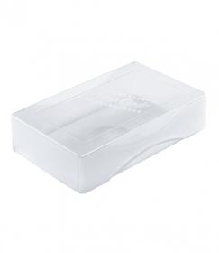 Коробка для визиток Name card прозрачная ВТ30