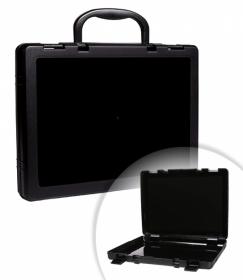Портфель-кейс  чёрный КС10