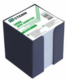 Блок для заметок  9х9х9 белый в пластбоксе ОФ530