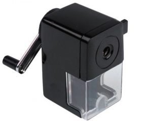 Точилка для карандашей механическая на струбцине (ТК-3355) пластик корпус кратно 6