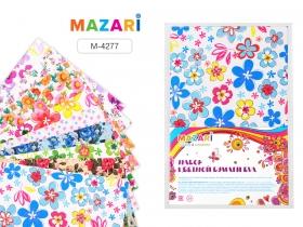 Набор цветной бумаги EVA, 10 листов, формат А4, толщина листа 2 мм, с цветной печатью M-4277