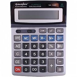 """Калькулятор настольный 12 pазр. """"Darvish"""" двойное питание 195*143*37мм DV-8850M-12"""