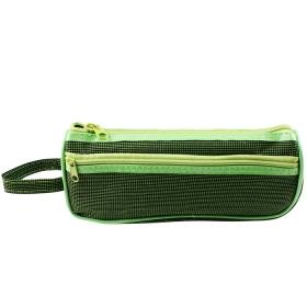 """Пенал мягкий тубус """"Darvish"""" ассорти + дополнительный карман DV-9264"""