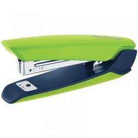 """Степлер №10 Berlingo """"Hyper"""" до 20л, 100 скоб, пластиковый корпус, зеленый KSn_25010"""