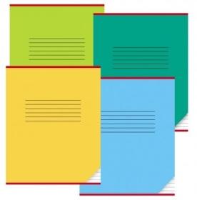 Тетрадь УЗКАЯ ЛИНИЯ 12л. КЛАССИКА (12-0669), цвет.мелов.обл. однотонная, 3 дизайна в коробке