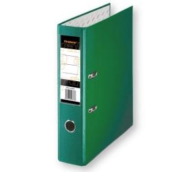 Папка регистратор А4, ПВХ, 50 мм. зеленая с уголком Tiralana Flax Vinil RMP50-423GN