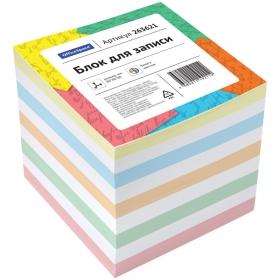 Блок для записи OfficeSpace, 8*8*8см, цветной 263621