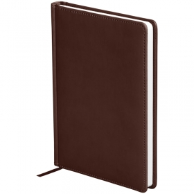 "Ежедневник недатир. A5, 136л., кожзам, OfficeSpace ""Winner"", коричневый En5_12679"