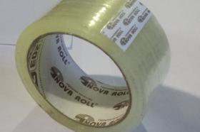 Клейкая лента упаковочная 48мм*66м*40мкм прозрачн.  (скотч)