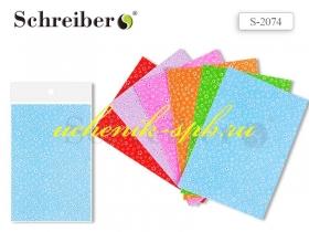 Ткань самоклеящаяся, А4 (21х30 см), ЦВЕТОЧЕК, цвета в ассортименте, ЦЕНА ЗА 1 ЛИСТ S 2074