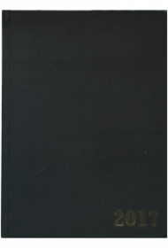 Ежедневник датированный 2020 А5, 168л. бумвинил ЧЁРНЫЙ (168-1533) ляссе