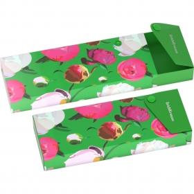 Пенал пластиковый ErichKrause® Peonies (в коробке-дисплее по 12 шт.) 45328