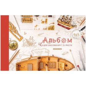 """Альбом для рисования 24л., А4, на скрепке ArtSpace """"Увлечения. Твое хобби"""" А24_36014"""