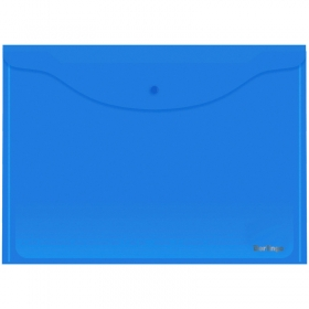 Папка-конверт на кнопке Berlingo, А3, 180мкм, синяя AKk_03402