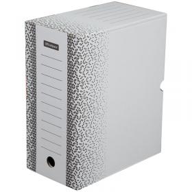 Короб архивный OfficeSpace с клапаном плотный микрогофрокартон 200мм белый 264809