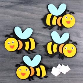 "Наклейки для декорирования ""Пчёлка"" 4шт/уп DV-11305-21"