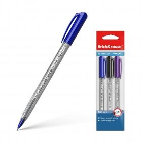 Ручка шариковая ErichKrause® U-11, Ultra Glide Technology, в пакете по 3 шт. 37095