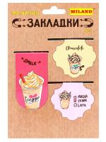 """Набор магнитных закладок """"Сладкая жизнь"""" (3 шт) МЗ-9169"""