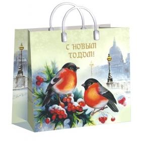 Пакет пластиковый Пернатые друзья 30х30/150, лам. ПИ-4181