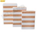"Набор прямоугольных коробок  3 в 1  ""Полосы"" ( 19 х 12 х 7,5 - 15 х 10 х 5 см) ПП-3186"