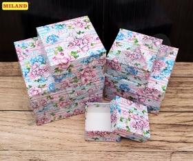 """Набор квадратных   коробок 5 в 1 """"Фиолет"""" (12*12*9 - 6*6*3 см) ПП-2866"""