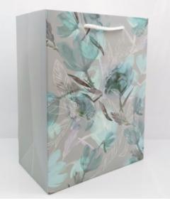 Пакет подарочный с матовой ламинацией Цветы мечты 31x42x12 см (XL),210 г ППД-9660