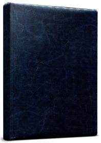 Ежедневник А5, 128л, ВИЛАДЖ синий (128П-1867) пухл.обл, недатиров.