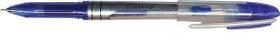 Ручка гелевая синяя SABER, 0,5мм, игольчатый пиш.узел, картонный короб 016037-02