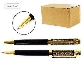 Автоматическая ручка шариковая, цвет чернил СИНИЙ, поворотный механизм AN 2245