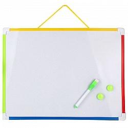 Набор для детей  (доска для рисования и письма 39,5*30см+маркер+2магнита) DV-10335