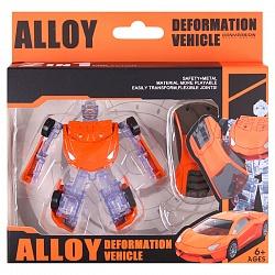 Робот-машина трансформер. Игрушка DV-T-2250
