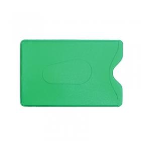 Обложка-карман для карт и пропусков ДПС 64*96мм, ПВХ, зеленый 2922-508