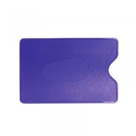 Обложка-карман для карт и пропусков ДПС 64*96мм, ПВХ, синий 2922-501
