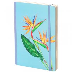 """Скетчбук - альбом для рисования 80л. А5 """"Lovely flowers"""", 100г/м2, тв.обл, карман, доп.листы крафт S"""