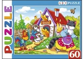 Artpuzzle. ПАЗЛЫ 60 элементов. КОШКИН ДОМ (Арт. ПА-4530)