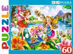 Artpuzzle. ПАЗЛЫ 60 элементов. Феи в волшебном саду. Арт. ПА-0589