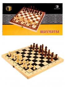 Шахматы деревянные (24х12х3 см), фигуры дерево, в коробке (Арт. AN02586)