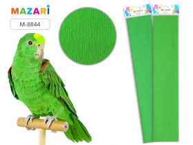 Бумага крепированная 50х250 см, светло-зеленая M-8844