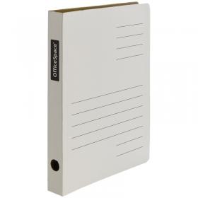 Скоросшиватель из микрогофрокартона OfficeSpace, ширина корешка 30мм, белый 158545/A-SG03_363